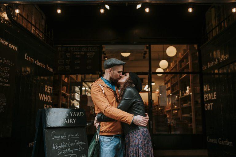 Servizio fotografico di coppia a Londra