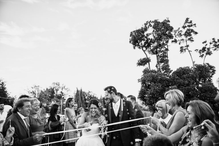 Arrivo degli sposi a Villa Malatesta - Poggio Berni Rimini