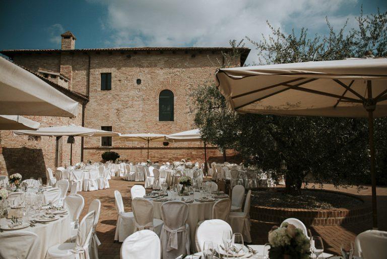 allestimenti tavoli matrimonio al castello di ribano