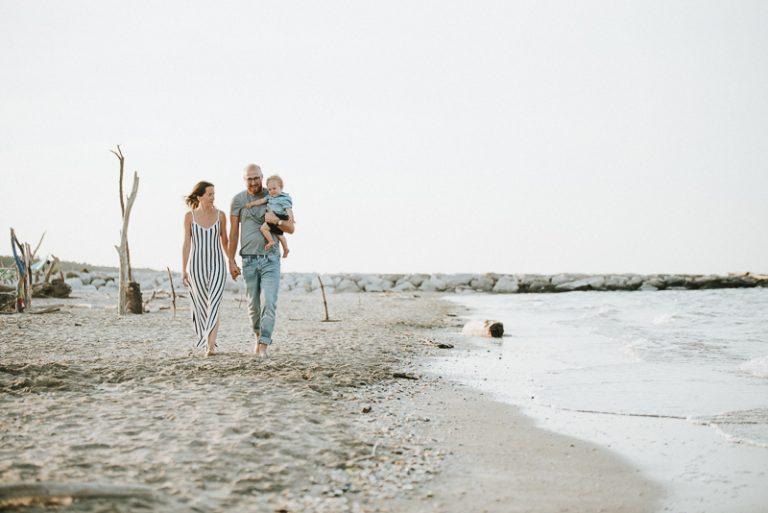 Servizio fotografico di famiglia in spiaggia | Ravenna